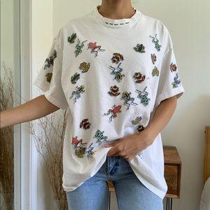 Vintage Dan Gilbert Frogs White T-Shirt